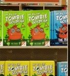 Barnes & Noble Big Fat Zombie Goldfish display